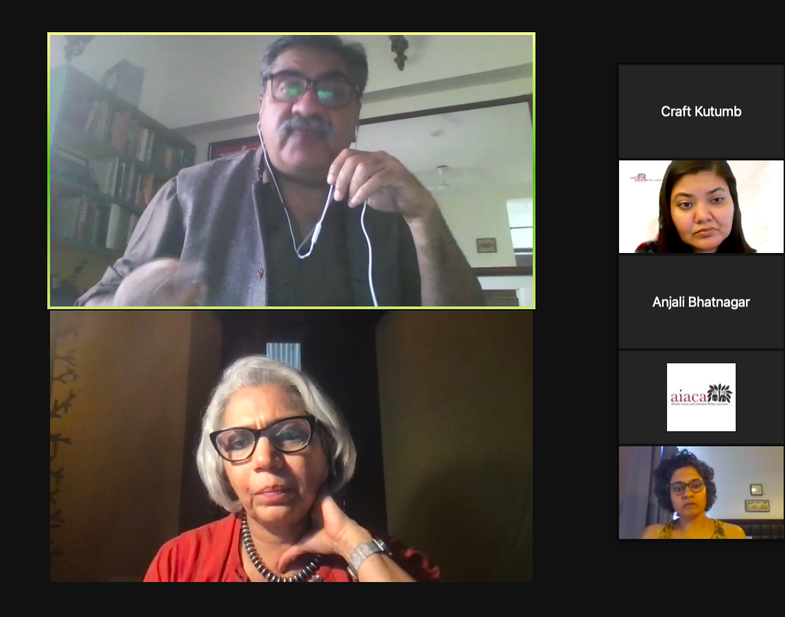 AIACA Honors Craft Businesses with Shilp Udyam Samman Organises an online panel discussion highlighting problems faced by the craft enterprises and measures for their revival.