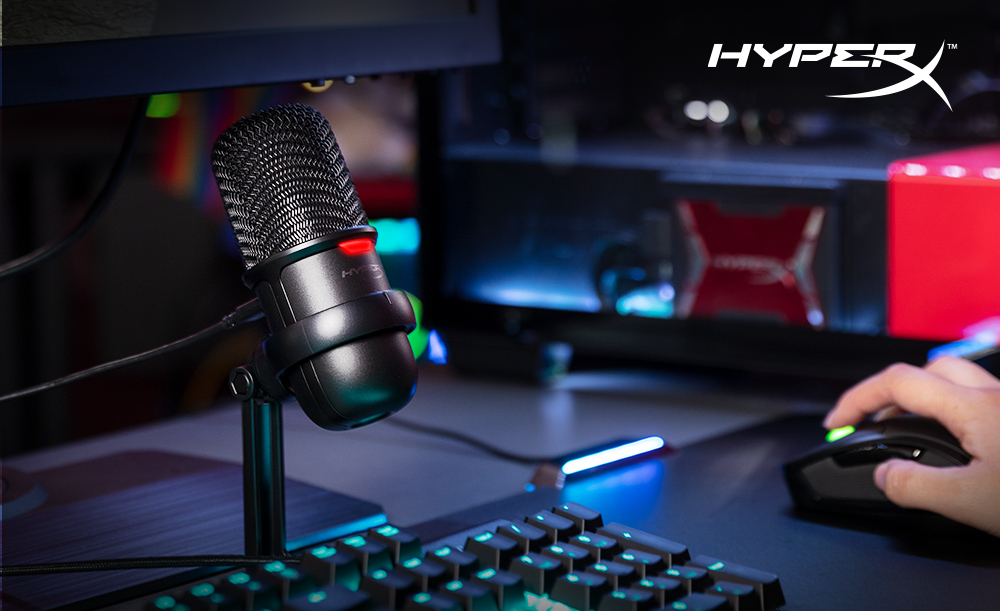 HyperX Releases SoloCast USB Microphone