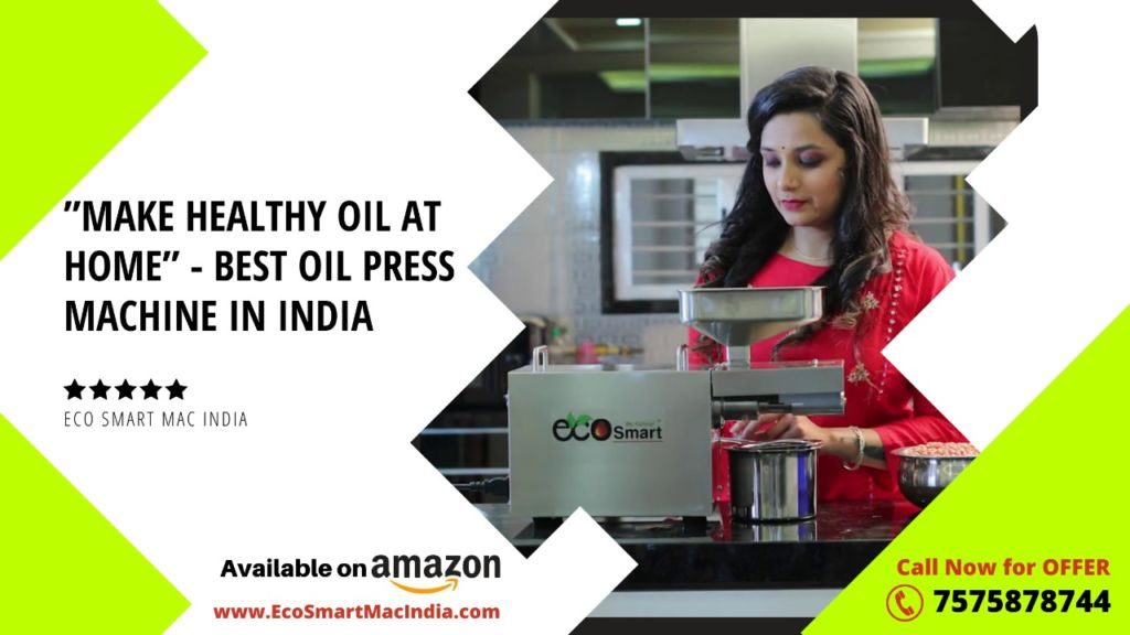 Eco Smart Mac India – The leading Manufacturer of Oil Press Machine in India