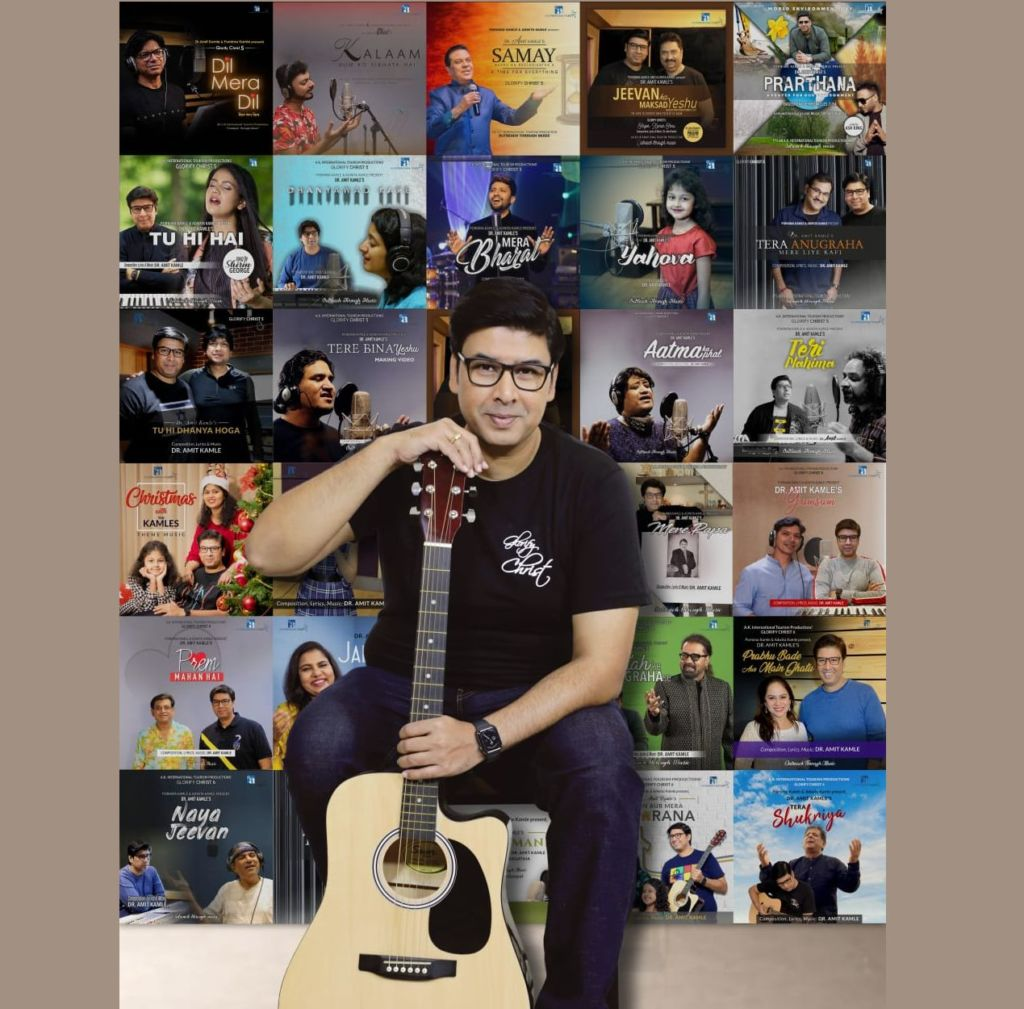 Dr. Amit Kamle revolutionises Gospel Music through his soulful melodies