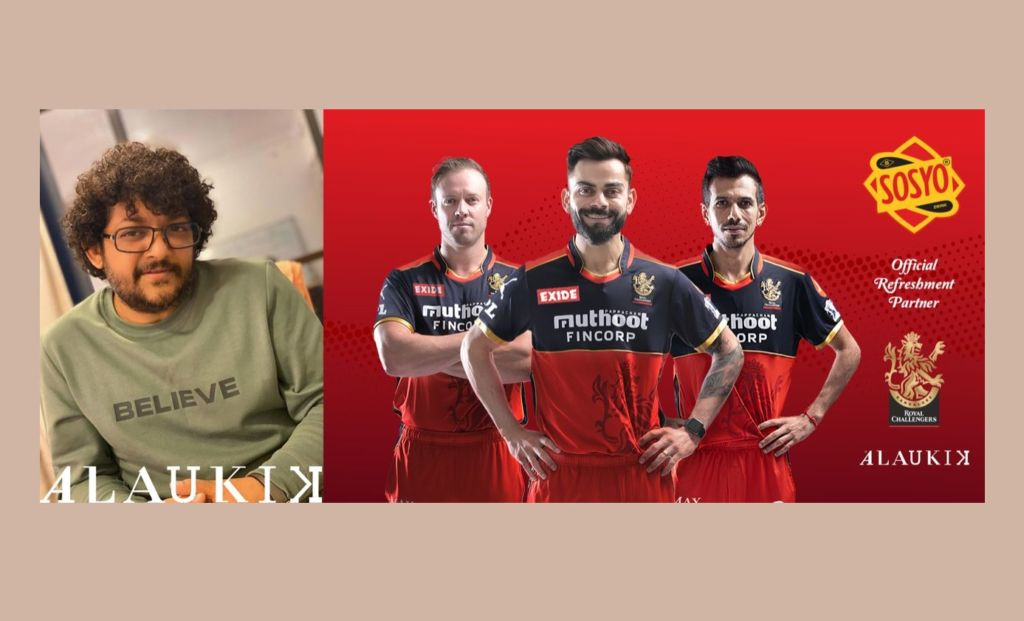 A refreshing partnership undertook by Alaukik Group for India's oldest beverage brand, Sosyo with Royal Challengers Bangalore