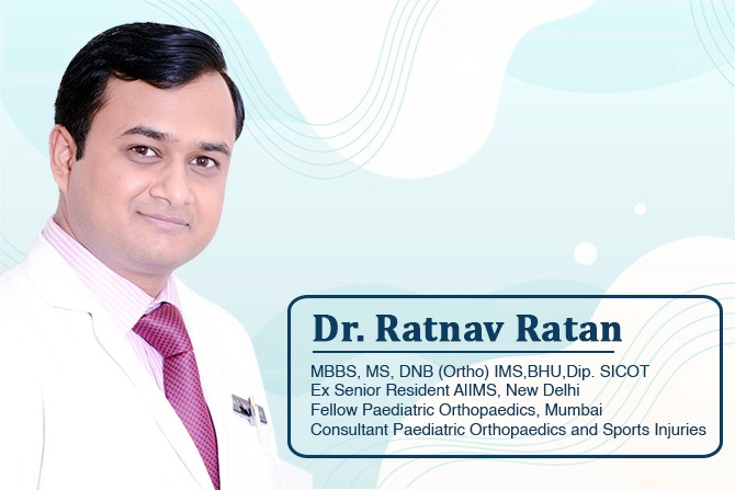 Dr. Ratnav Ratan made it possible for a girl with distal arthrogryposis to walk normally.