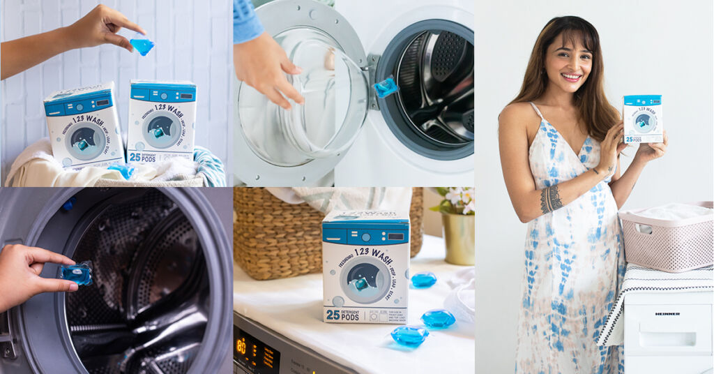 123WASH Is the Affordable, Convenient to Use, Zero-Waste Laundry Detergent Option You Won't Regret Trying