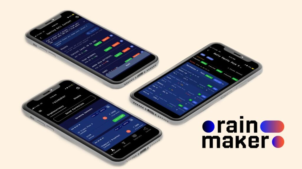 Just One-click Away From Entering The World of Stocks & Decentralised Finance Token with Rainmaker