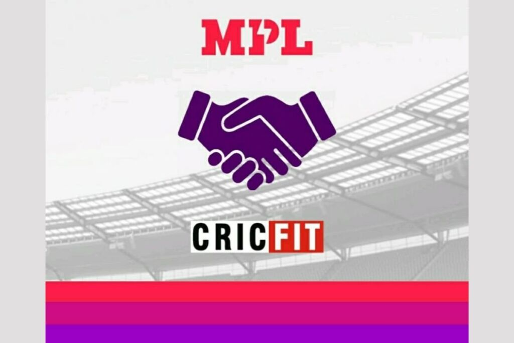 Cricfit join hands with MPL for the second half of Indian T20 league