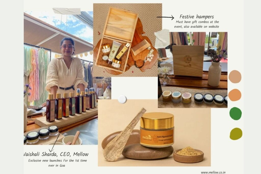 Mellow showcased its natural range of products and gift hampers at Goa