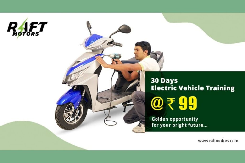 Be Self Dependent: 30-Days Electric Vehicle Training in Just Rs. 99/-