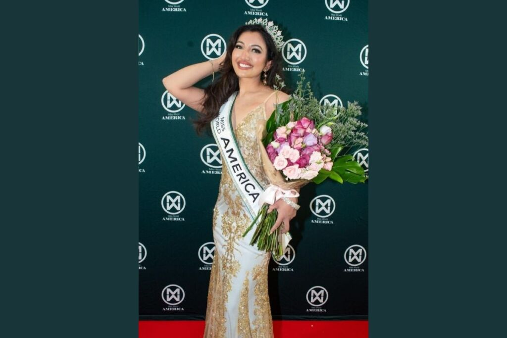 Shree Saini becomes first Indian to win Miss World America 2021